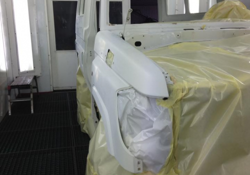 Toyota Land Cruiser HZJ78 Ready for paint
